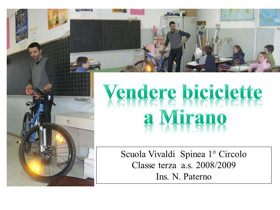 Scuola Vivaldi Spinea 1° Circolo Classe terza a.s. 2008/2009 Ins. N. Paterno