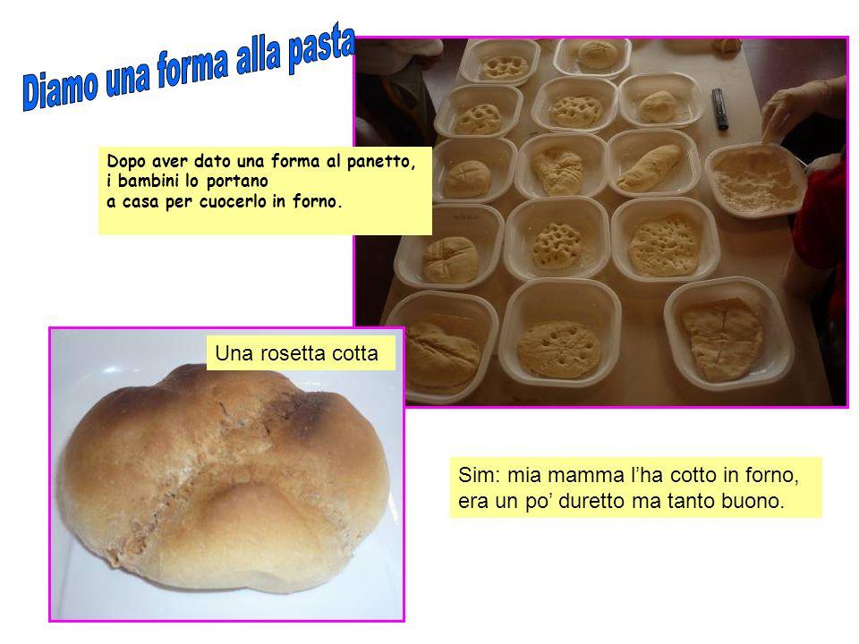 Una rappresentazione grafica dellesperienza del pane.
