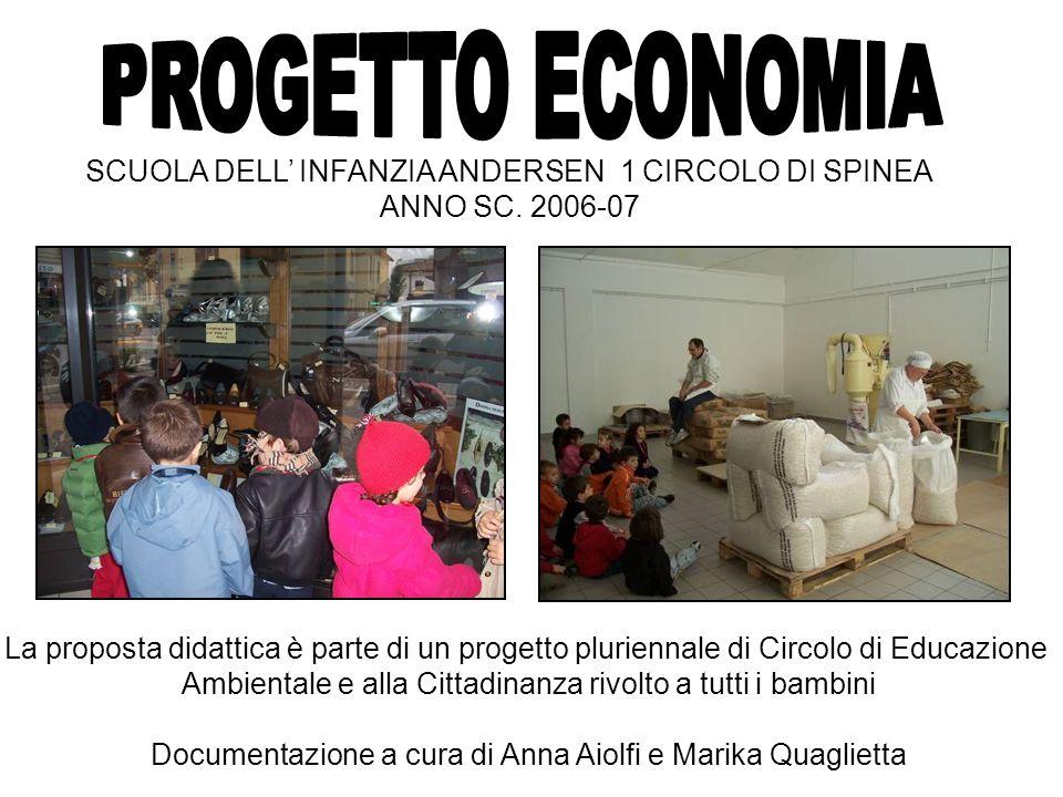 SCUOLA DELL INFANZIA ANDERSEN 1 CIRCOLO DI SPINEA ANNO SC. 2006-07 La proposta didattica è parte di un progetto pluriennale di Circolo di Educazione A