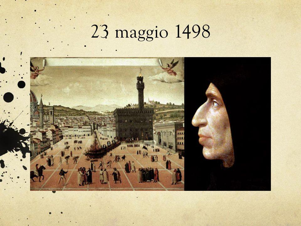23 maggio 1498
