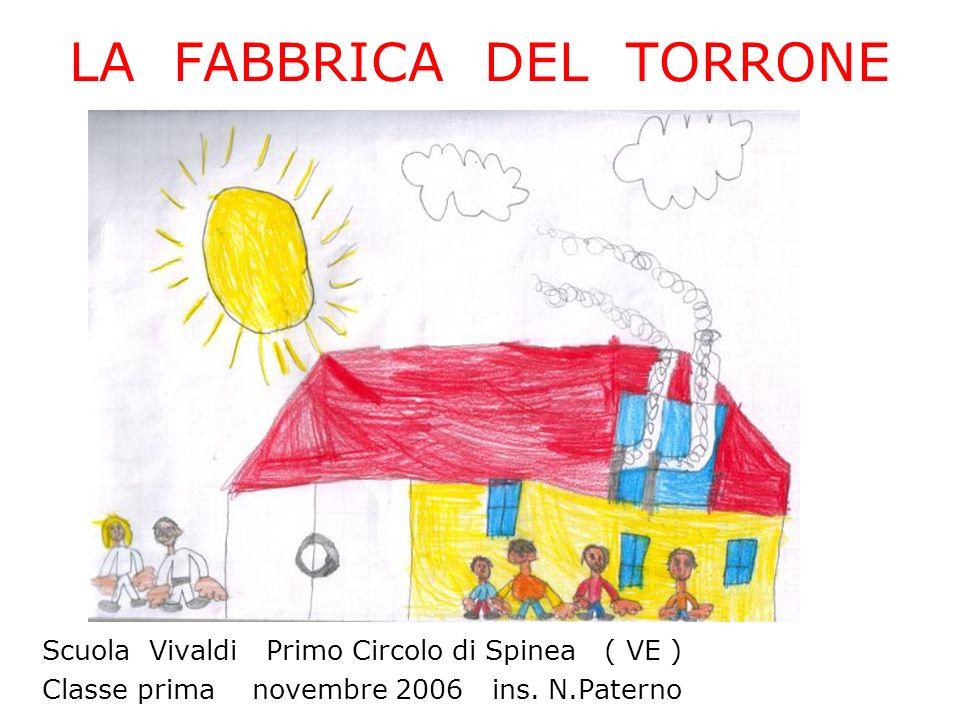 LA FABBRICA DEL TORRONE Scuola Vivaldi Primo Circolo di Spinea ( VE ) Classe prima novembre 2006 ins. N.Paterno