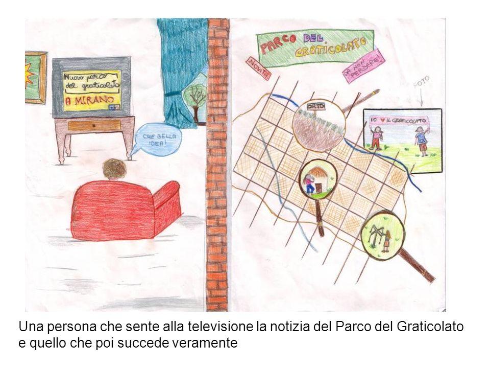 Una persona che sente alla televisione la notizia del Parco del Graticolato e quello che poi succede veramente
