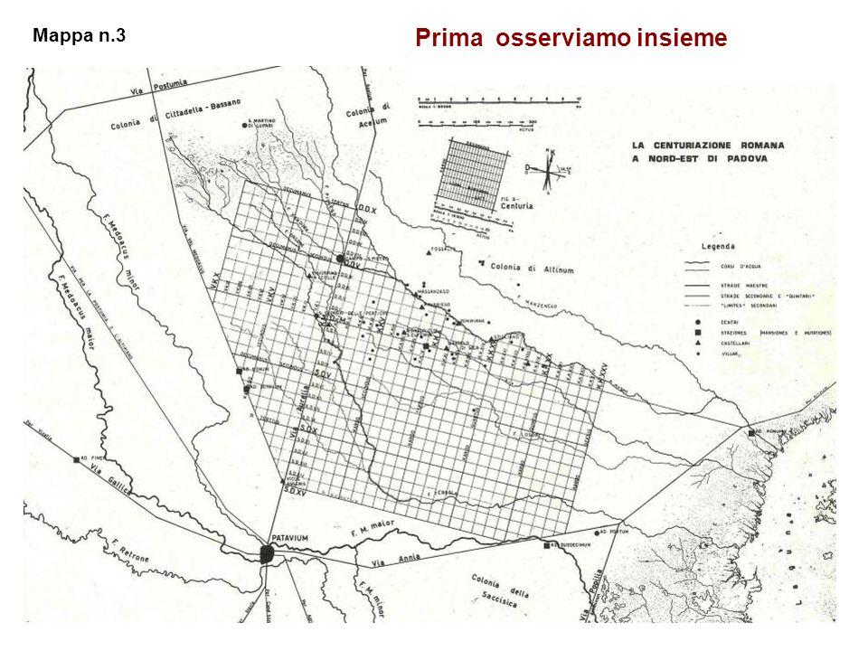 Prima osserviamo insieme Mappa n.3