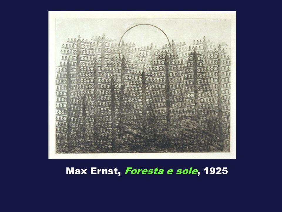 Max Ernst, Foresta e sole, 1925