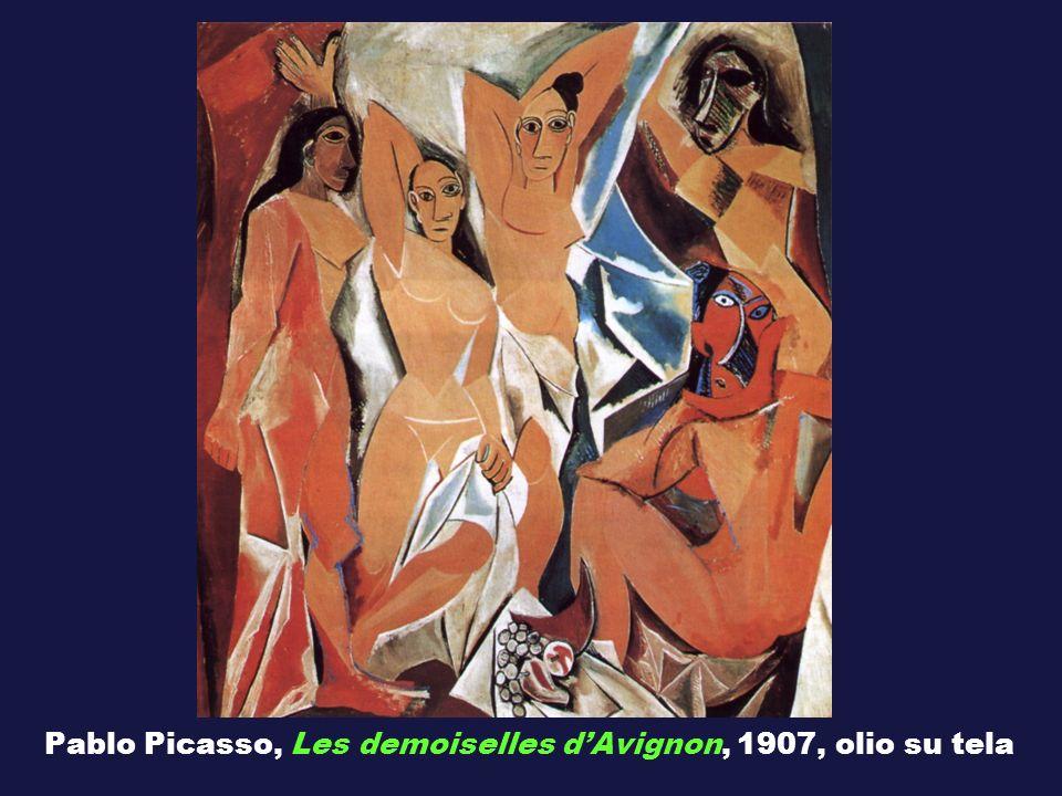 Pablo Picasso, Les demoiselles dAvignon, 1907, olio su tela
