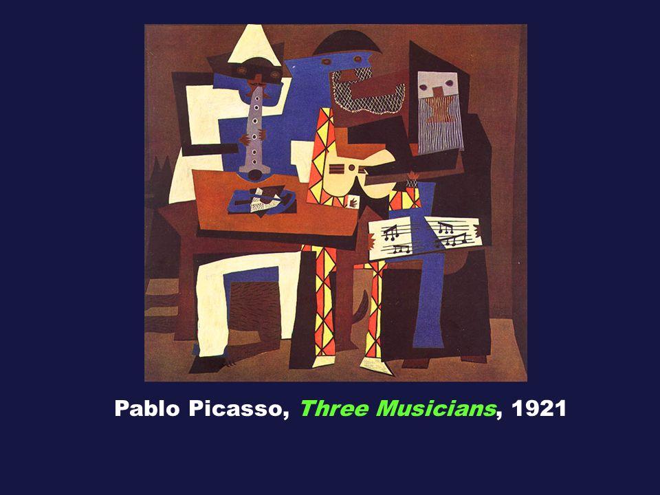Pablo Picasso, Three Musicians, 1921