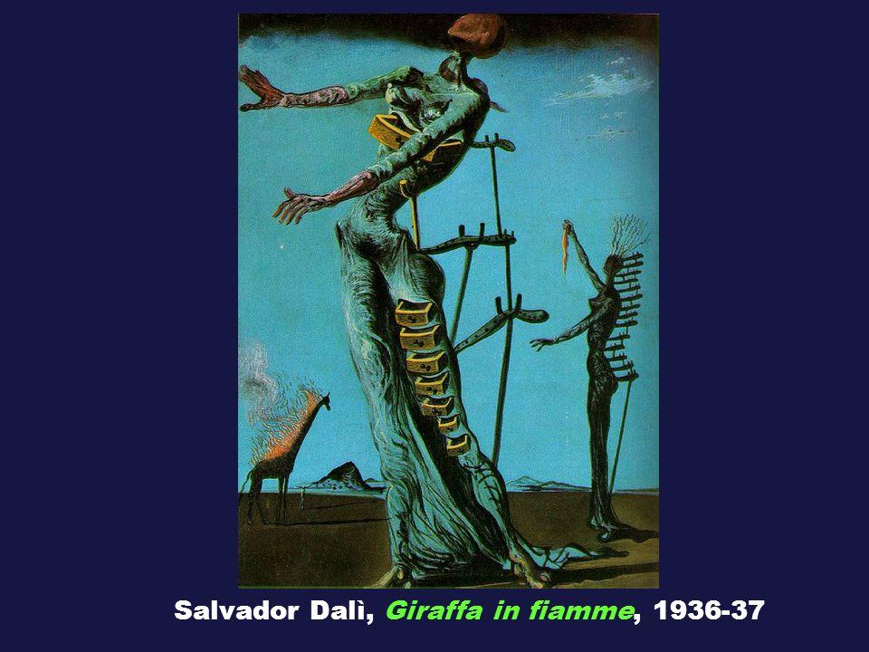 Salvador Dalì, Giraffa in fiamme, 1936-37