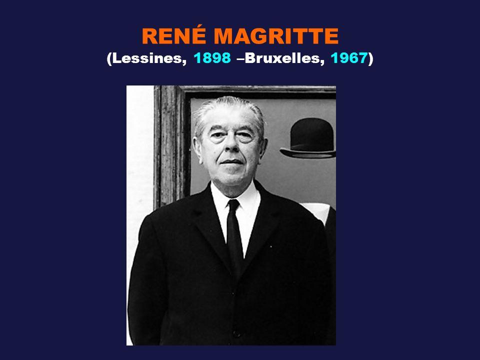 RENÉ MAGRITTE (Lessines, 1898 –Bruxelles, 1967)