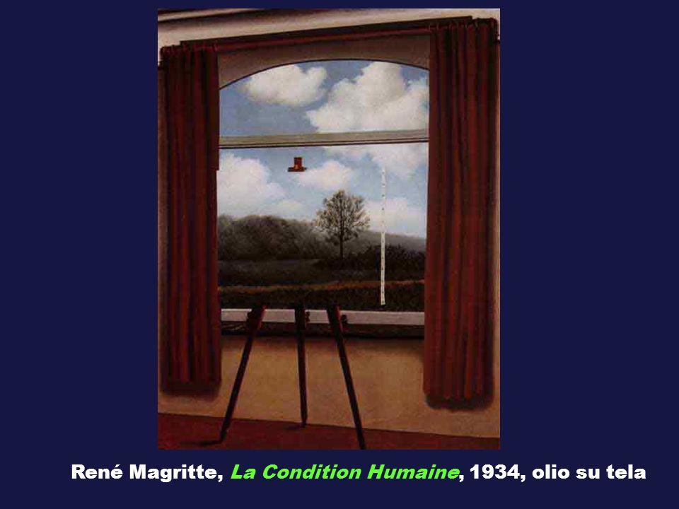 René Magritte, La Condition Humaine, 1934, olio su tela