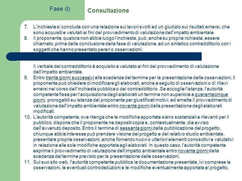 7.L'inchiesta si conclude con una relazione sui lavori svolti ed un giudizio sui risultati emersi, che sono acquisiti e valutati ai fini del provvedim