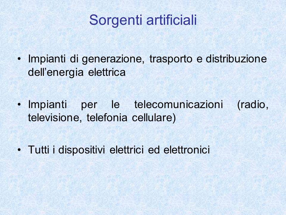 Impianti di generazione, trasporto e distribuzione dellenergia elettrica Impianti per le telecomunicazioni (radio, televisione, telefonia cellulare) T