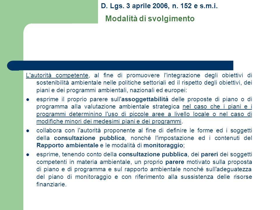 D.Lgs. 3 aprile 2006, n. 152 e s.m.i.