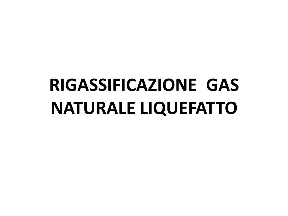 RIGASSIFICAZIONE GAS NATURALE LIQUEFATTO