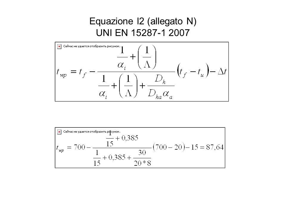Equazione l2 (allegato N) UNI EN 15287-1 2007