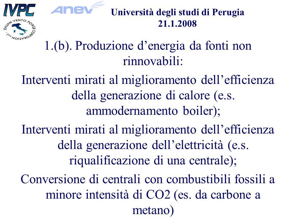 Università degli studi di Perugia 21.1.2008 1.(b).