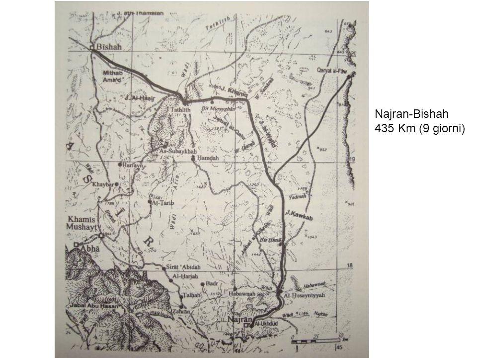 Najran-Bishah 435 Km (9 giorni)