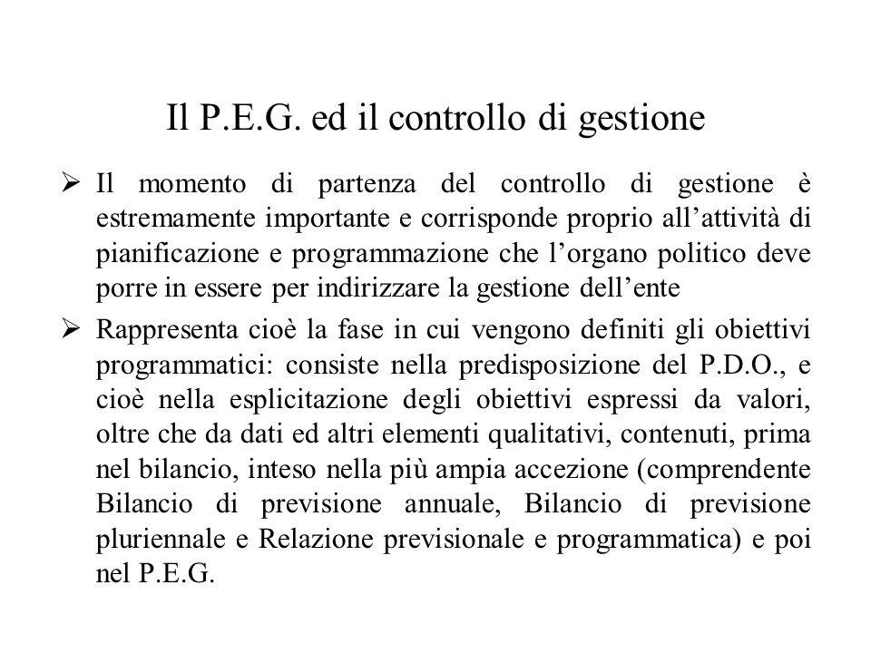 Il P.E.G.