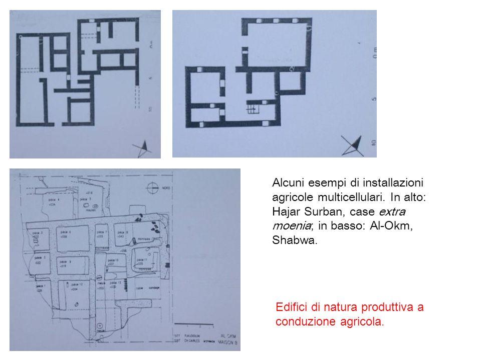 Alcuni esempi di installazioni agricole multicellulari.