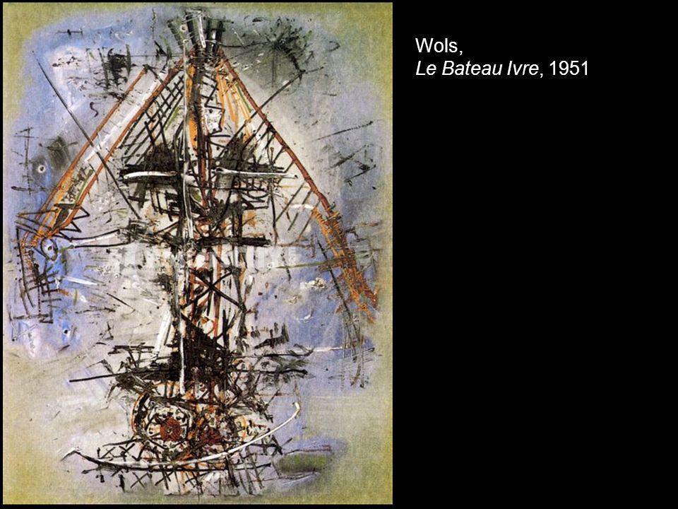Wols, Le Bateau Ivre, 1951