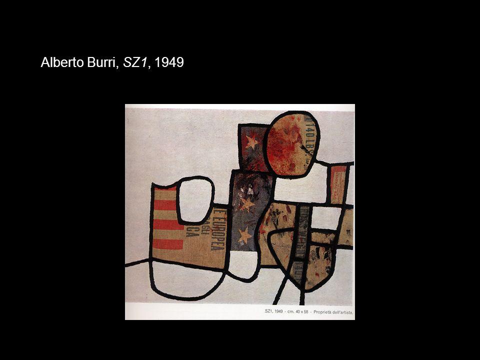 Alberto Burri, SZ1, 1949