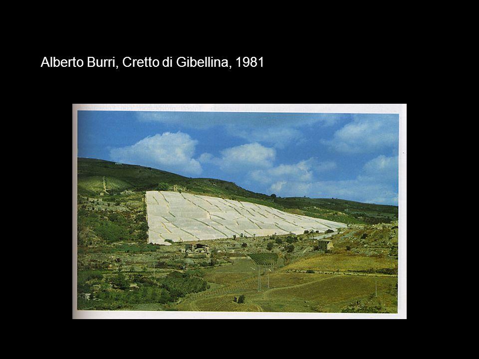 Alberto Burri, Cretto di Gibellina, 1981