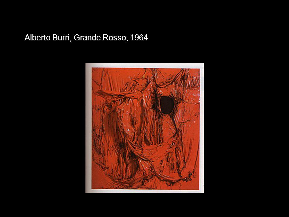 Alberto Burri, Grande Rosso, 1964
