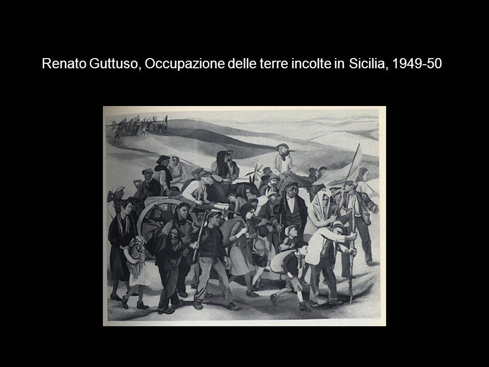 Renato Guttuso, Occupazione delle terre incolte in Sicilia, 1949-50
