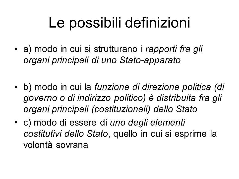 I caratteri nuovi nellordinamento costituzionale italiano A) Pluralismo di formazioni sociali e di formazioni politiche : -art.2 Cost.