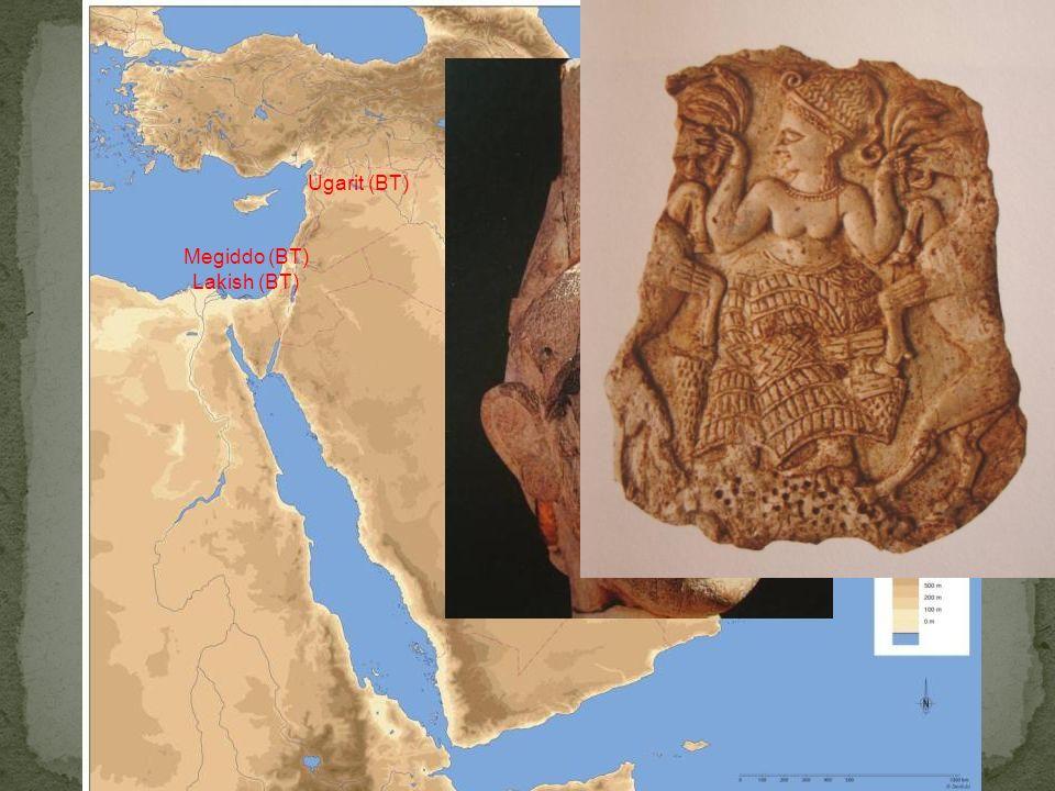 Bronzo Tardo Ugarit (BT) Lakish (BT) Megiddo (BT)