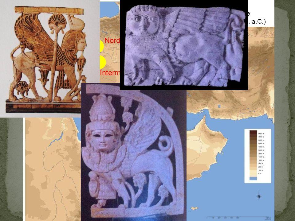 Centri di produzione (IX-VII sec. a.C.) Assiro Nord-siriano Intermedio Fenicio