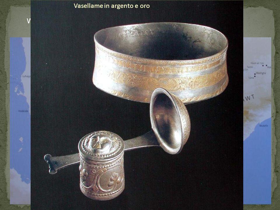 Wadi Dura. Sepolture principesche Vasellame in argento e oro