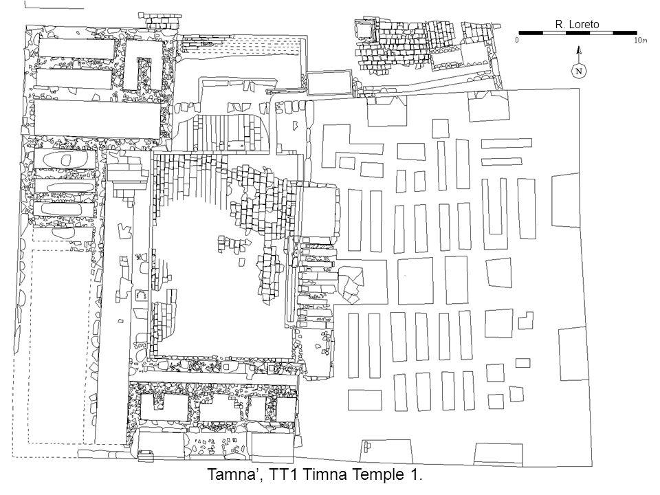 R. Loreto Tamna, TT1 Timna Temple 1.