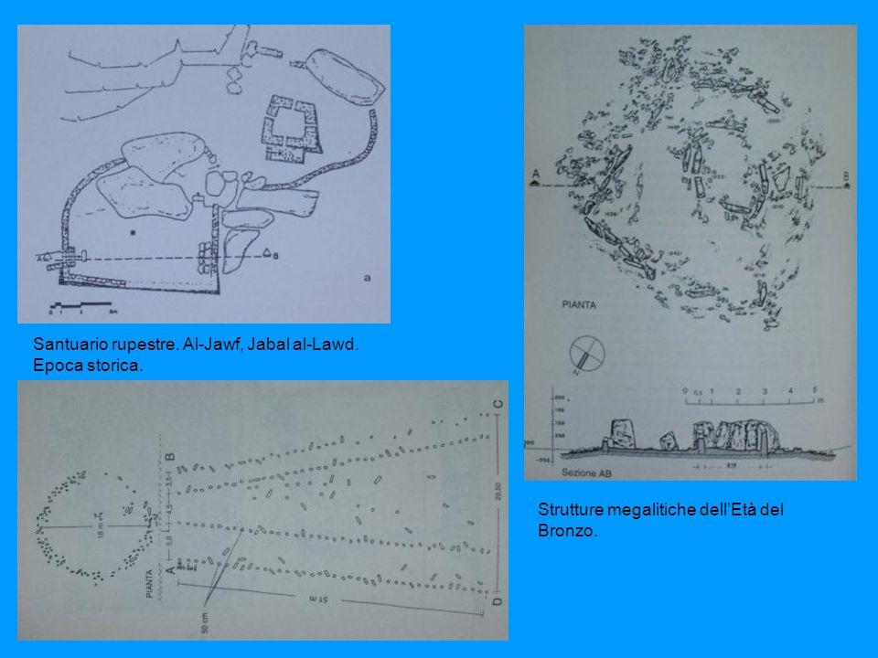 Strutture megalitiche dellEtà del Bronzo.Santuario rupestre.