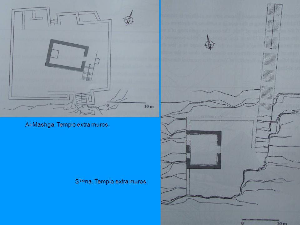 Al-Mashga. Tempio extra muros. Sna. Tempio extra muros.