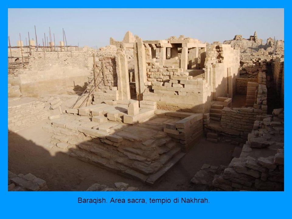 Baraqish. Area sacra, tempio di Nakhrah.
