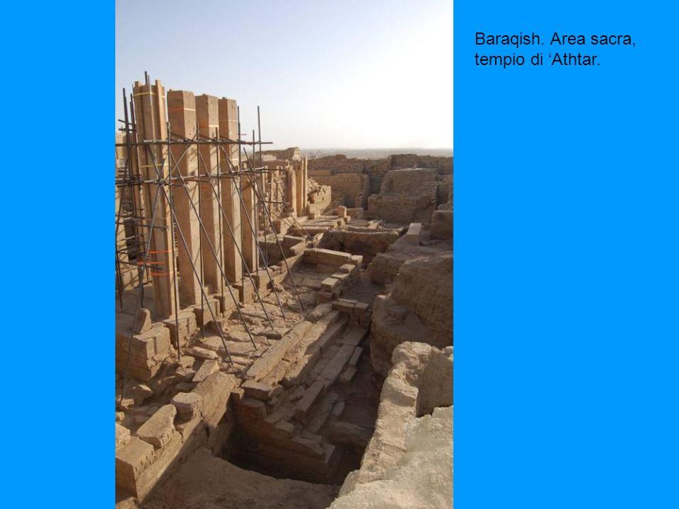 Baraqish. Area sacra, tempio di Athtar.