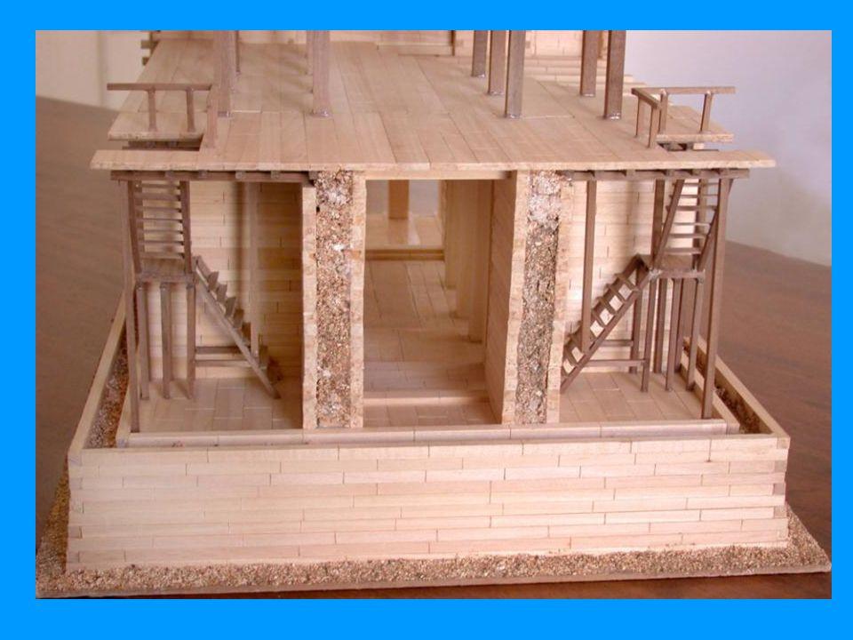 Modello in pietra di un palazzo o edificio sacro. V sec. a.C. Al-Jawf.