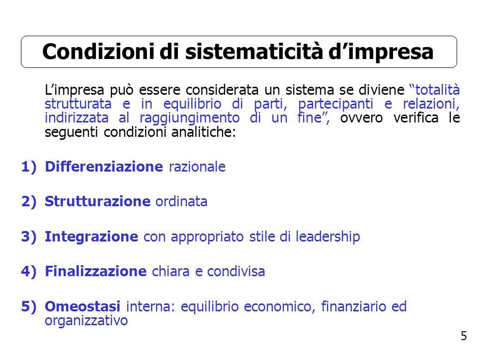 6 Differenziazione La differenziazione riguarda la divisione del lavoro inerente al processo amministrativo aziendale: - Il lavoro è diviso in parti (Es.