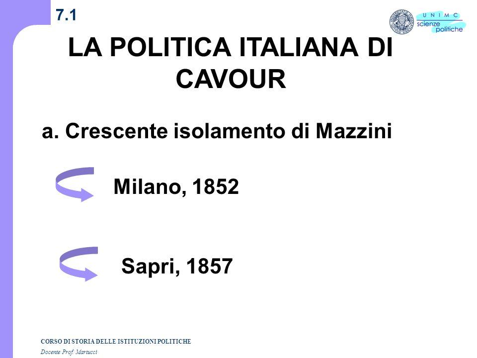 Composizione grafica dott. Andrea Dezi - 2003 CORSO DI STORIA DELLE ISTITUZIONI POLITICHE Docente Prof. Martucci Unità 4 (Lezioni n. 7-8) I SEMESTRE A