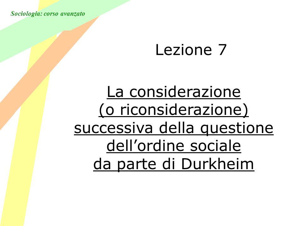 Sociologia: corso avanzato 3 Fino a che punto le sue argomentazioni riguardano solo lAmerica?