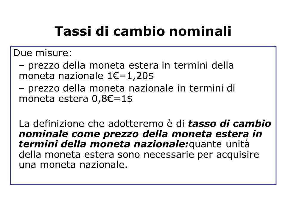 Blanchard, Scoprire la macroeconomia, vol. I, Il Mulino 2005 Capitolo 14. I mercati dei beni e i mercati finanziari in economia aperta 14 Due misure: