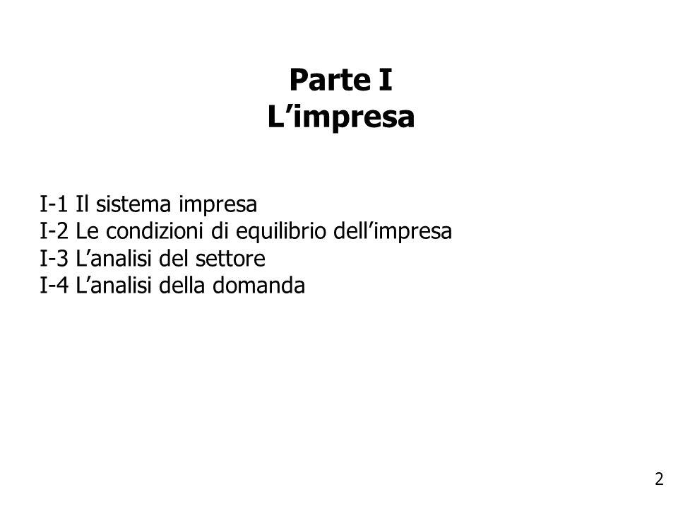 3 Parte II La strategia II-1 La definizione della strategia II-2 Le strategie complessive o strategie comparate II-3 Le strategie competitive o strategie di business