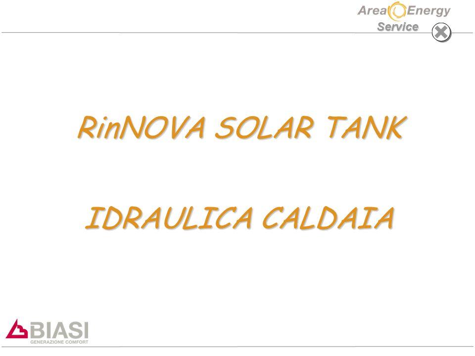 Service RinNOVA SOLAR TANK IDRAULICA CALDAIA
