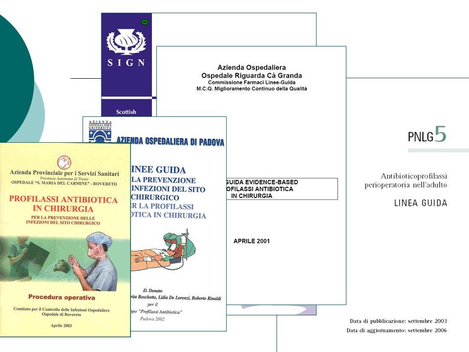 Protocollo per la chirurgia urologica