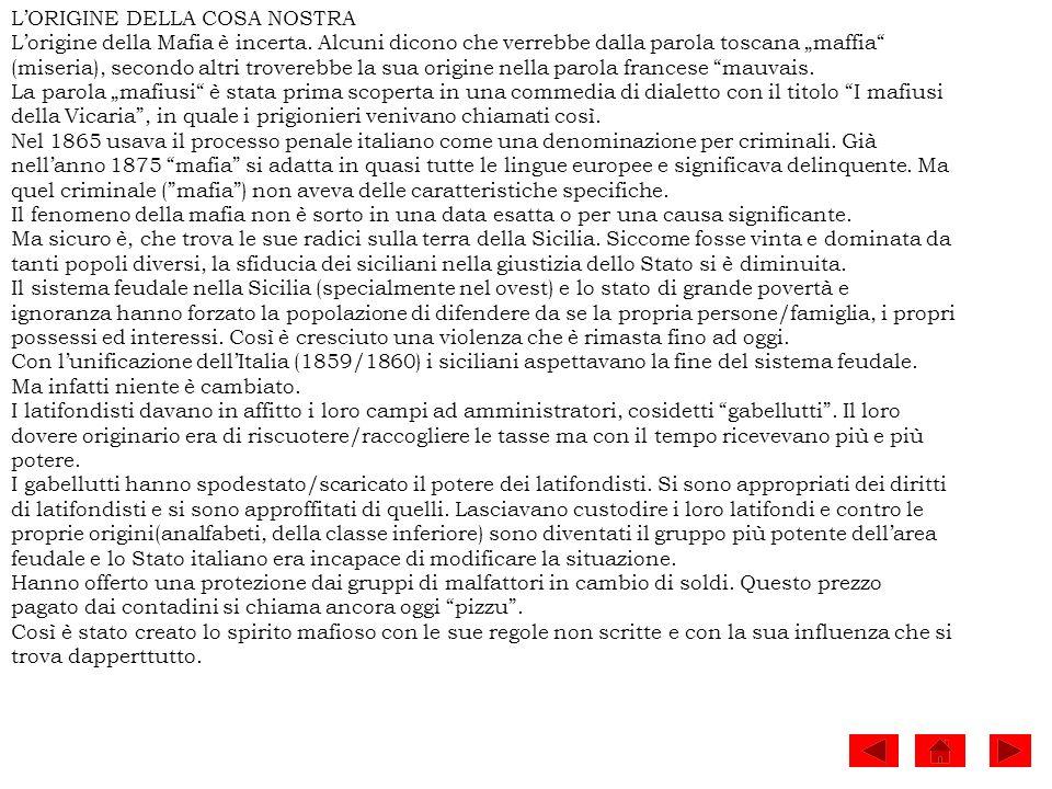 Molti fatti ci dicono che lo Stato italiano non cerca di aiutare con appoggio.