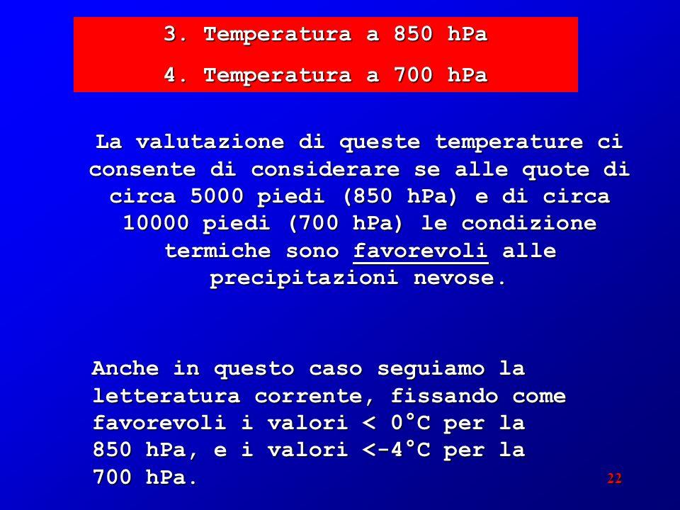 22 3. Temperatura a 850 hPa 4.