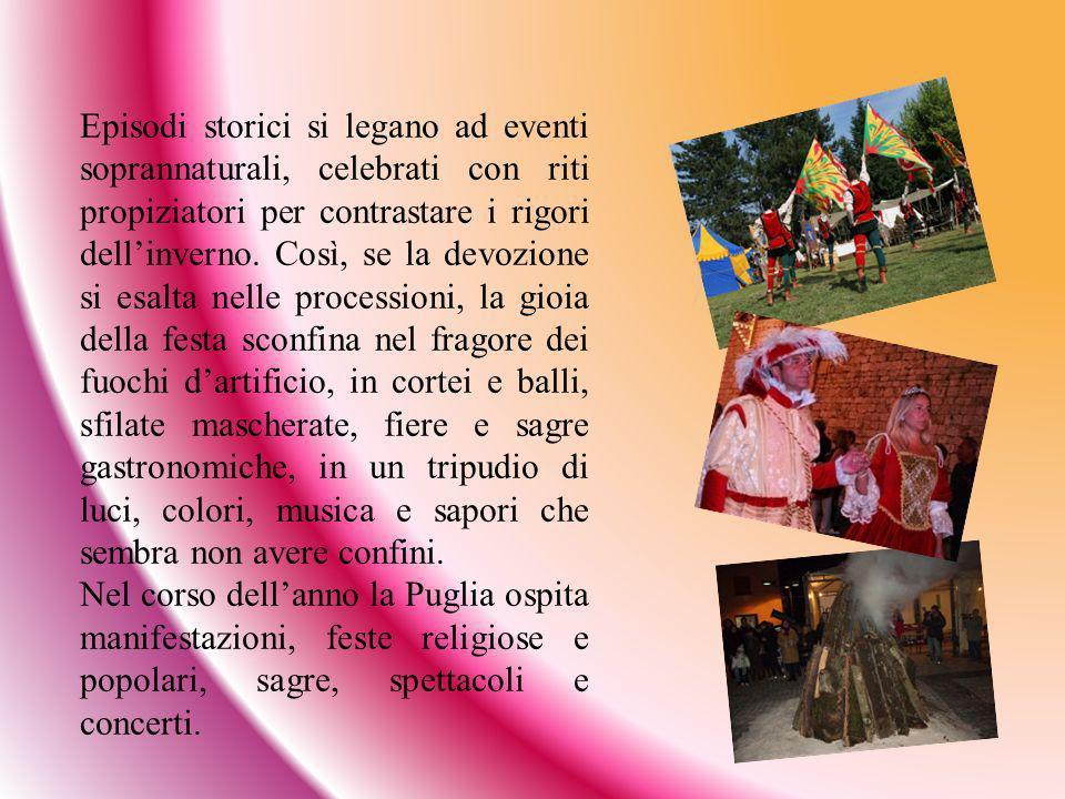 In provincia di Bari, a Palo del Colle, l ultimo giorno di carnevale viene tesa una fune tra due balconi della città.