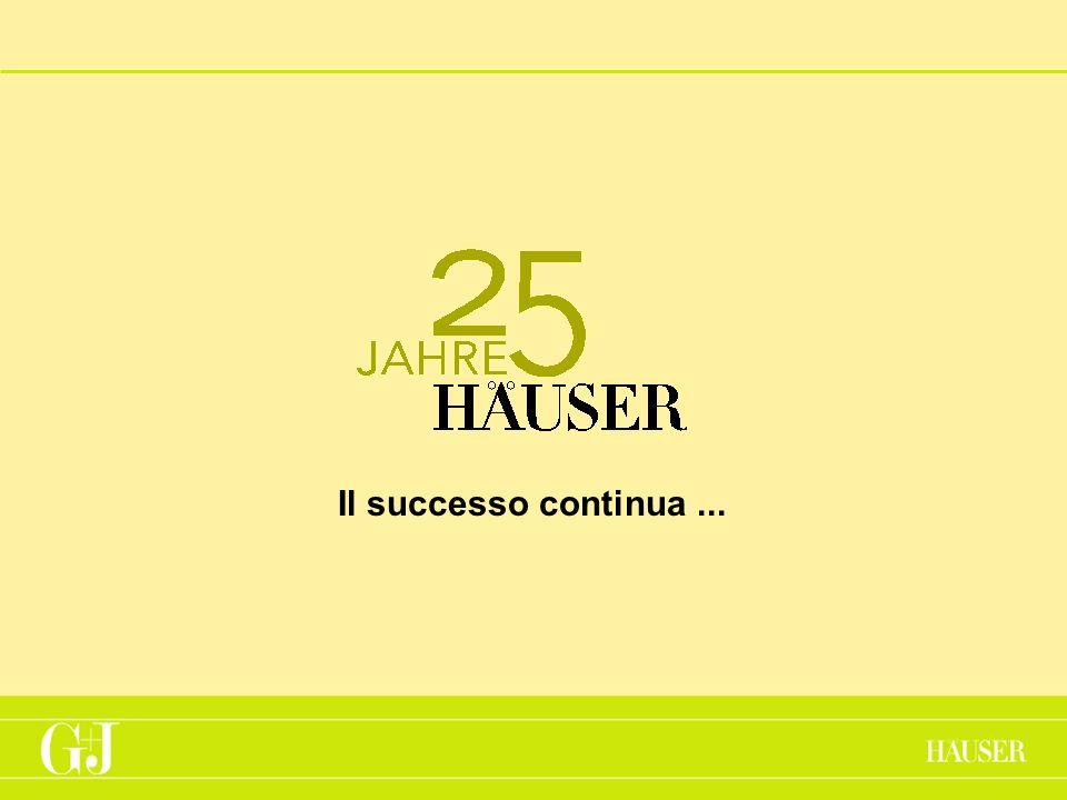 Il successo continua...