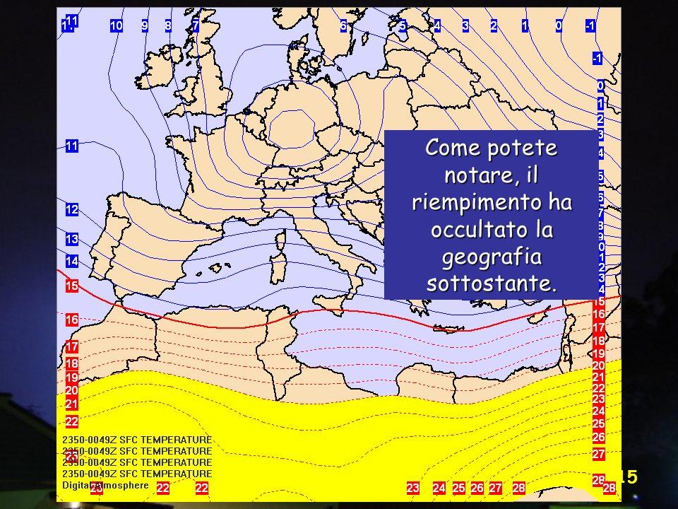 Vittorio Villasmunta 15 Come potete notare, il riempimento ha occultato la geografia sottostante.