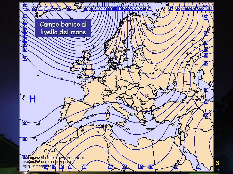 Vittorio Villasmunta 34 Avvezione fredda Valori bassi Valori alti Vento geostrofico